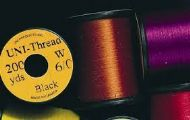UNI THREAD 6/0 PREWAXED THREAD